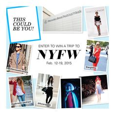 """Send Me to New York Fashion Week!"" by polyvore ❤ liked on Polyvore featuring sendmetoFW"