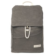 The Benson - Waxed Gray. $138 #stoneandcloth #carryaneducation