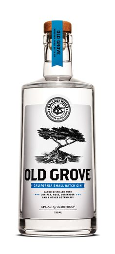 Bottle Lable Design | Ballast Point Brewery - San Diego | Old Grove Gin PD