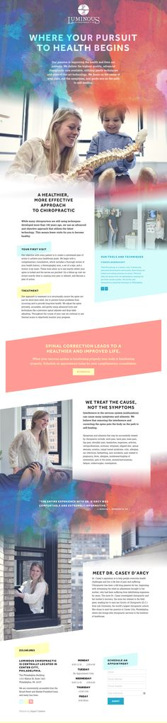 Luminous Chiropractic - Website Design