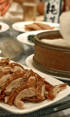 Pekingente essen in Peking!