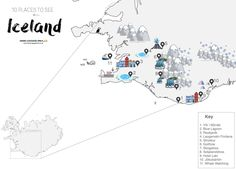 This Alternative Map Of Iceland Shows You The Amazing Sights You Need To See On Your First Trip To Iceland - Hand Luggage Only - Travel,… Travel Blog, Travel Planner, Travel Advice, Travel Usa, Travel Hacks, Travel Tips, Travel Ideas, Oregon Travel, Cheap Places To Travel