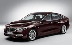 Download wallpapers BMW 5-Series GT, 4k, 2018 cars, new 5-Series GT, german cars, BMW