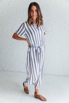 One Day Striped Maxi