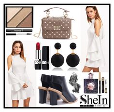 """""""Shein 10/9"""" by b-necka ❤ liked on Polyvore featuring Yves Saint Laurent, Illamasqua, Elizabeth Arden and Christian Dior"""