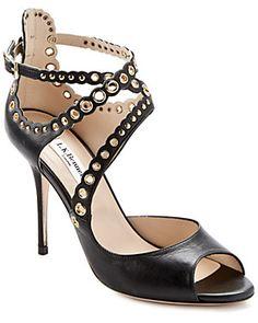 "L.K.Bennett ""Leah"" Leather Sandal"