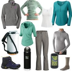 Sue wins the Most Liked outfit for her entry in the Fashionable Hiker fashion challenge and gets a $10 Amazon card! #fashion #contest #style Women's Hiking Clothing - http://amzn.to/2hJYguZ