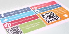 Are you including social media links on your #businesscards to get the most out of them? http://printerbees.com/