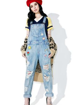 PLAYGROUND PATCH OVERALLS #style #fashion #trend #onlineshop #shoptagr