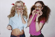 Theodora Richards & Lizzy Jagger photographed by Terry Richardson