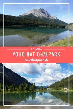 Unser Kanada Roadtrip führt uns auch in den Yoho Nationalpark in Kanada. Highlights sind der Emerald Lake, die Takakkaw Falls und die Spiral Tunnels.