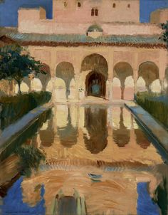 Hall of the Ambassadors, Alhambra, Granada; Joaquin Sorolla y Bastida (Spanish, 1863 - 1923); 1909; Oil on canvas; 104.1 × 81.9 cm (41 × 32 1/4 in.); 79.PA.154; J. Paul Getty Museum, Los Angeles, California