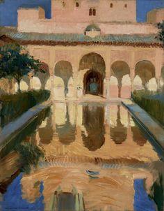 Hall of the Ambassadors, Alhambra, Granada; Joaquin Sorolla y Bastida (Spanish, 1863 - 1923); 1909; Oil on canvas; 104.1 × 81.9 cm (41 × 32 1/4 in.); 79.PA.154; J. Paul Getty Museum, Los Angeles, California