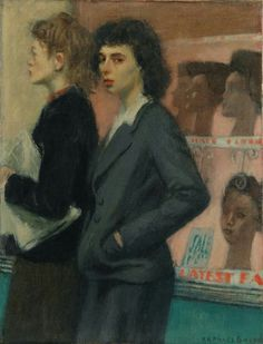 Passersby 1933   by Raphael Soyer