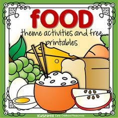 Food theme activities, centers, printables and games to make for preschool, pre-k and Kindergarten children. health activities health care health ideas health tips healthy meals Healthy Food Activities For Preschool, Nutrition Activities, Preschool Themes, Activities For Kids, Preschool Printables, Teaching Themes, Classroom Themes, Teaching Tools, Teaching Kids
