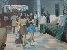 A college in Baghdad (Iraq) during the 1970′s, the difference between now & then...
