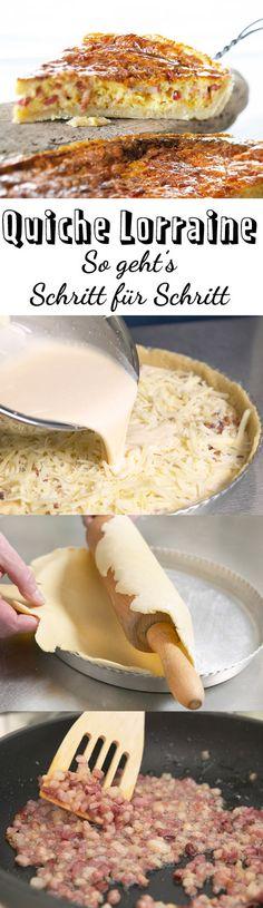 Mhh, Quiche Lorraine ist der würzige Klassiker aus der französischen Küche und ganz leicht. Wir zeigen, wie es geht!