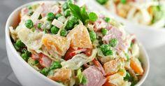 Recette de Salade de pomme de terre printanière légère et rassasiante. Facile et rapide à réaliser, goûteuse et diététique.