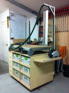 Really cool Festool Multi-Function Table & Systainer Custom Work Table