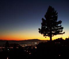 Berkeley Sunset by disrupsean, via Flickr