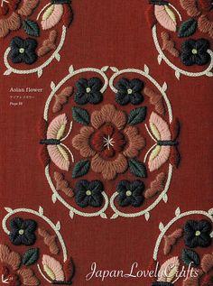 Hand Embroidery Botanical Patterns, Embroidered Flower, Plant, Leaf, Bird Design, Easy Stitch Tutorial, embroider gifts, Handmade Home Decor #embroidery #embroideryart #embroiderydesigns #stitch #stitching #pattern #tutorial #handembroidery #etsy #etsyfinds #japanlovelycrafts #botanical #flower #floral #asian