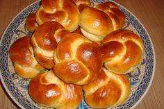 Recept voor zoete kwarkbroodjes. Deze broodjes smaken naar de melkbroodjes uit de winkel. Verwarm de melk (niet te heet!). Doe de bloem met de suiker en vanillesuiker in een kom. Maak een kuiltje in het midden en doe hierin de gist. Giet hie