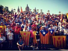 El sobiranisme es troba a Montjuïc