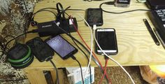 Does it look like a mess with all 6 devices connected for charging simultaneously? http://amzn.to/1O6gBul