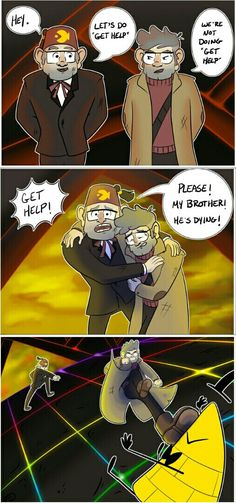Thor would approve of this plan, and certainly Loki would be with Ford (From Nordic Gods to Gravity Falls *).