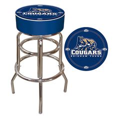 Trademark Commerce CLC1000-BYU BYU Padded Bar Stool