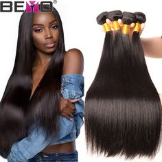 Latest Collection Of 100% Human Hair 3 Bundles Straight Peruvian Hair Weave Bundles Natural Color 8a Grade Hair Extensions Non Remy Hair Extensions To Make One Feel At Ease And Energetic Hair Weaves Hair Extensions & Wigs