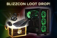 Corsair is giving away an Epic loot drop in celebration of BlizzCon!