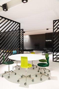 minimalist - mod furniture pops of color great lighting LaPalma - MILANO 2014