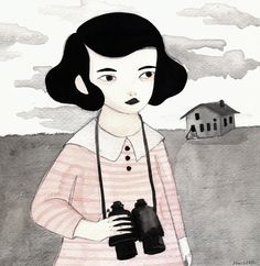 Ilustración. - Hilda Palafox (mas en: http://hildapalafox.com/)