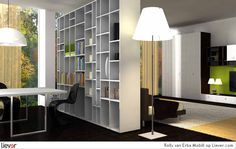 Erba Mobili Rolly - Erba Mobili kasten & boekenkasten - foto's & verkoopadressen op Liever interieur