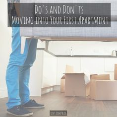Are you getting ready to move into your first apartment? Here are a few do's and don'ts to make the process a bit easier. Apartment Needs, My First Apartment, Apartment Design, Apartment Living, Apartment Checklist, Apartment Hacks, Apartment Goals, Apartment Therapy, College Apartments