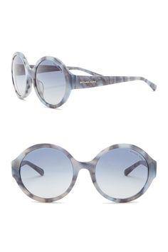 ac3999d56eb Seaside Gateway 55mm Round Sunglasses by Michael Kors on  nordstrom rack  Seaside