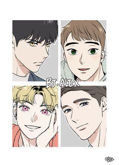 """<bj alex> Eng ver uploaded💖 Next week Final episode uploded💝 Please buy it only from Lezhin"" Otaku Anime, Manga Anime, Manga Bl, Manga Love, Manhwa Manga, Bl Comics, Handsome Anime, Shounen Ai, Fujoshi"
