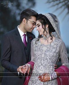 Pakistani Bridal Dresses Online, Pakistani Bridal Makeup, Couple Shoot, Couple Pictures, Awesome Dresses, Nice Dresses, Bridal Looks, Bridal Style, Receptions