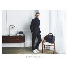 Tbt that time #smythson put me in a suit and made my mum happy