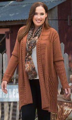 FENWAY CARDIGAN / MiB Plus Size Fashion for Women / Winter Fashion / Plus Size Dress / Plus Size Cardigan