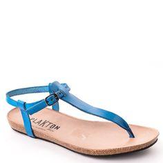 Nu  pieds Plakton Man Sel Bleu azur