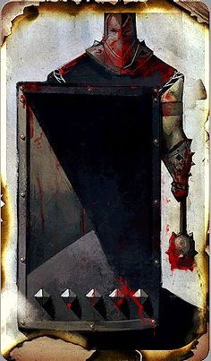 Dragon Age: Inquisition tarot card