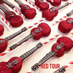 Taylor Swift tour cakepops! #cake #cakepops