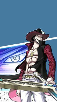 One Piece   วันพีช   Dracule Mihawk   ジュラキュール・ミホーク   จูลาคีล มิฮอว์ค