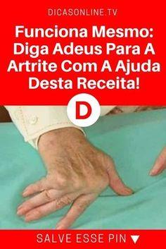 Remédios para artrite | Funciona Mesmo: Diga Adeus Para A Artrite Com A Ajuda Desta Incrível Receita !