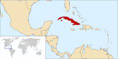 Location Cuba ◆Cuba (land) - Wikipedia http://nl.wikipedia.org/wiki/Cuba_%28land%29 #Cuba
