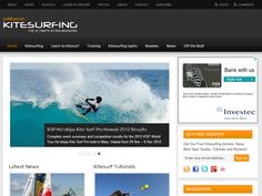 inMotion Kitesurfing: WordPress Project Details by inMotion Graphics
