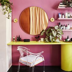 Farrow & Ball's Bold Paint Color, Rangwali 7 Interior Designer-Approved Tips For Fixing Over-Decorat Blue Paint Colors, Bold Colors, Wall Colours, Farrow Ball, Holi Festival Of Colours, Color Style, Sweet Home, Colour Schemes, Color Trends
