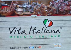 Vita Italiana - Mercato Italiano. #EuropaPassage #EuropaPassageHamburg #Italien #Hamburg